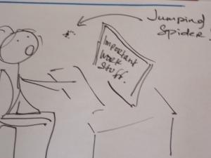 jumpingspiderdesk