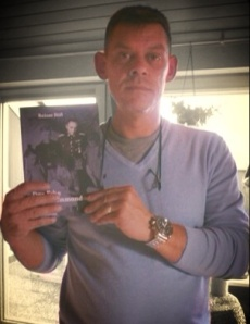 Rainer with his book - October 2013.