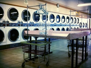 Musings from the Laundromat: Little Basket, Blue Ticket and Panty Lines