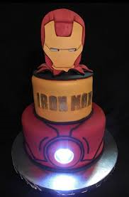 iron man wedding cake