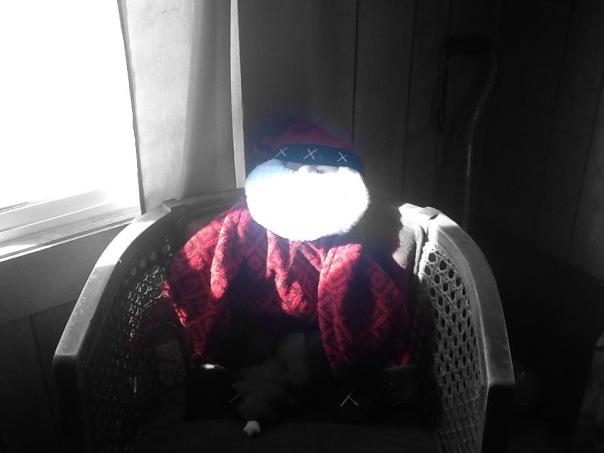 Window Santa