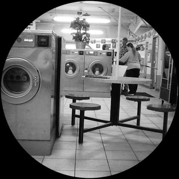 Rare photo of Laundry Lady